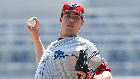 Trevor May is back in Clearwater after making 16 appearances last year.